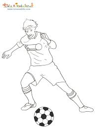 coloriage ã dessiner a imprimer foot ol