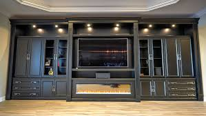 wall units awesome custom built home entertainment center custom