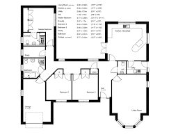 Luxury Bungalow Designs - attractive design 6 a bungalow floor plans uk uk together with
