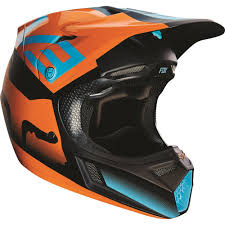 motocross helmets with visor fox racing 2016 v3 shiv helmet aqua available at motocross giant