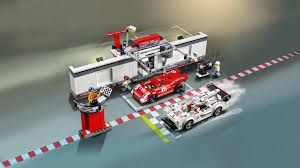lego speed champions porsche porsche 919 hybrid and 917k pit lane 75876 products speed
