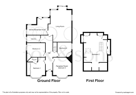 the burrow floor plan 4 bed detached bungalow for sale in pine road chandlers ford