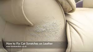 How To Patch Leather Sofa How To Repair Scuffs U0026 Scratches On Leather Furniture Clinic