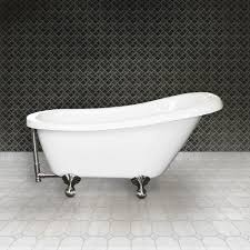 Silver Bathroom Decor by Bathroom White Bathup With Silver Iron Clawfoot Tub On White