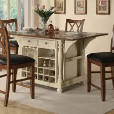 rustic portable kitchen island with drop leaf photo and drop leaf