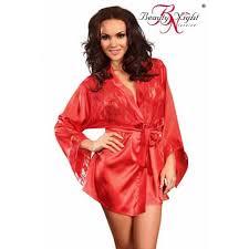 robe de chambre en satin robe de chambre en satin et dentelle desabillé