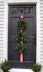 wreaths always look better on a door u2014 designed