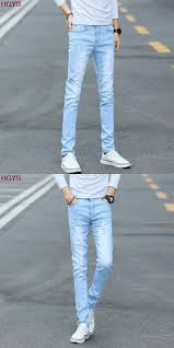 mens light colored jeans 2017 elastic light color jeans for men cultivate one s morality
