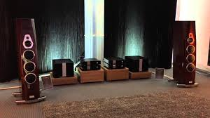 high end home theater speakers tidal acoustics room at munich high end audio show 2015 youtube