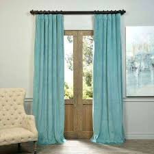 Turquoise Blackout Curtains Turquoise Curtains Semi Opaque Turquoise Blue Blackout
