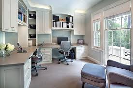 Built In Desk Ideas Amazing Built In Office Ideas Gray Home Office Design Ideas With A