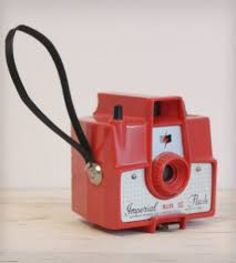 rare antique camera imperial mark xii red home decor