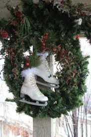 Outdoor Christmas Wreaths by 444 Best Ice Skates Images On Pinterest Christmas Ideas