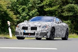 bmw supercar m8 2018 bmw m8 convertible spied pictures bmw m8 spy shot front