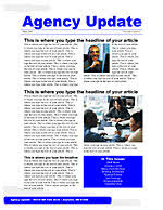 newsletter templates xerox for small businesses