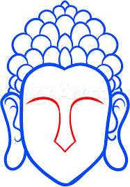 thanksgiving drawings step by step how to draw buddha easy step by step faces people free online