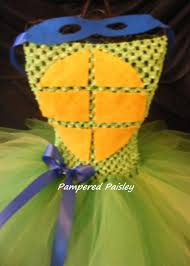 Teenage Mutant Ninja Turtles Halloween Costumes Girls Teenage Mutant Ninja Turtles Inspired Leonardo Tutu Dress