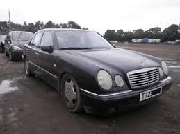 mercedes e diesel mercedes e class w210 e300 diesel breaking spares salvage damaged