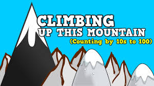 climbing up this mountain counting by 10s up to 100 youtube