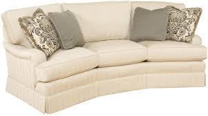 chatham customizable conversation sofa with english arms and skirt