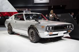 nissan skyline png nissan u0027s vintage skylines are the most beautiful cars at the new