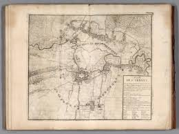 siege de table b 53 plan de la siege de st venant 1710 david rumsey