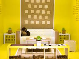 sunny yellow paint colors make your living room feels warm