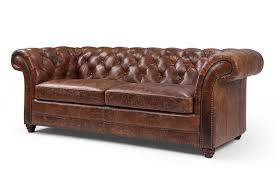 canapes anglais canapé chesterfield en cuir westminster