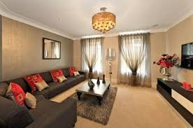 warm color for living room