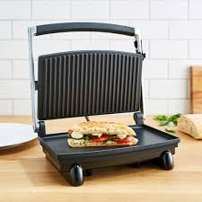 Sunbeam Cafe Series Toaster Sunbeam Compact Café Grill Sandwich Press Gr8210 Target Australia