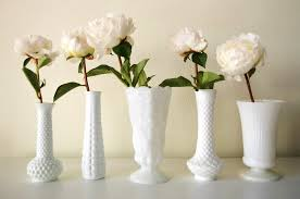 Milk Glass Vase Floral How To Week Cb X Fifty Flowers Styling Milk Glass Vases