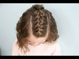 cute girl hairstyles how to french braid single french braid back short hair cute girls hairstyles