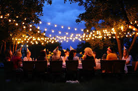outside party lights ideas outdoor party lights