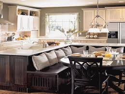 bench for kitchen island backsplash kitchen island with built in dining table lovely