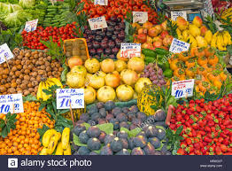 whole turkey for sale fruits for sale at a market in istanbul turkey stock photo