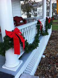 How To Decorate Banister With Garland How To Save Money Decorating For Christmas Frugal Upstate