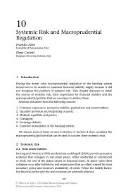 dispatcher resume sample systemic risk and macroprudential regulation springer inside