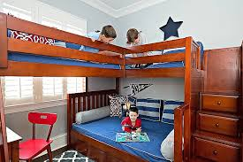 Corner Bunk Bed Bunk Beds Three In One Bunk Bed A New Way To Sleep Three A