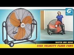 large floor fan industrial high velocity floor fan youtube