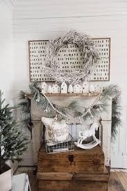 farmhouse decor target farmhouse christmas mantel liz