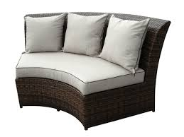 Round Outdoor Sofa Beautiful Outdoor Patio Wicker Furniture Deep Seating 5pc Sofa Set New