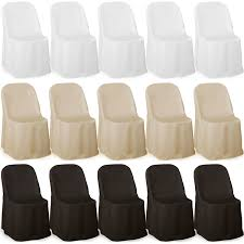 Wedding Chair Covers Cheap Excellent Premium Folding Poly Chair Covers For Wedding Party