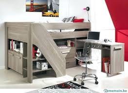 lit enfant mezzanine avec bureau lit mezzanine avec bureau et rangement bureau rangement enfant lit