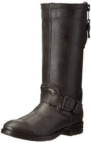 womens boots barcelona amazon com bed stu s token motorcycle boot mid calf