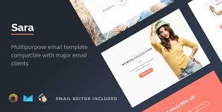 sara html email template builder 2 0 by maileden themeforest