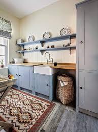 kitchen rugs blue kitchen farmhouse with blue grey kitchen