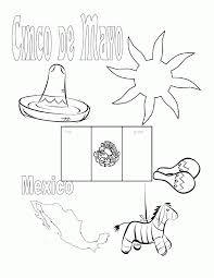mexico coloring page pictures of the flag of mexico coloring home