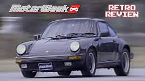 old porsche spoiler 1988 porsche 911 carrera retro review youtube