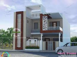 modern flat roof house plans home front design double floor ash999 info