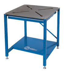 miller arcstation 30fx welding table airgas mil951168 miller 30 x 30 x 3 8 solid steel x pattern
